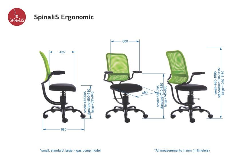 Sedia ergonomica Ergonomic | Spinalis