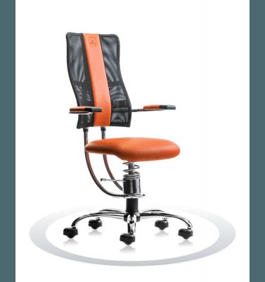 Sedia ergonomica per computer Hacker R201 crom