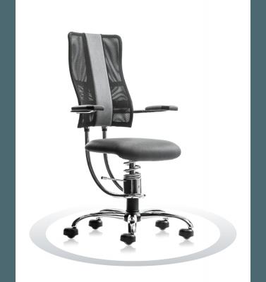 Sedia ergonomica per computer R711 crom