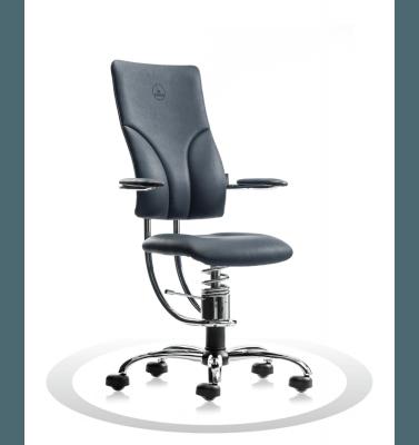 Sedia ergonomica per ufficio R500 crom