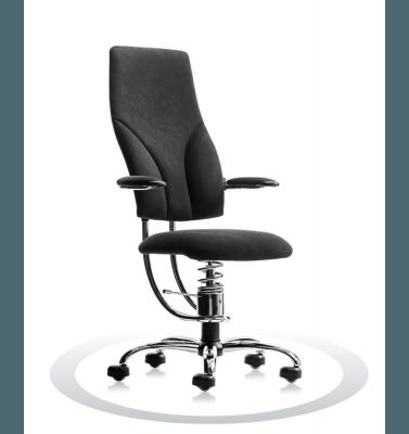 Sedia ergonomica ufficio nera