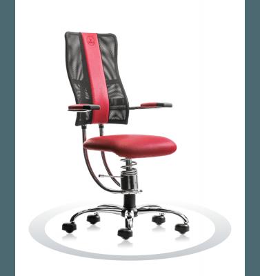 Sedia per pc Hacker R303 crom