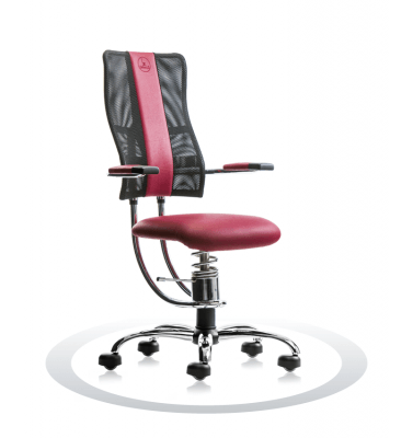 Sedia per pc Hacker R304 crom