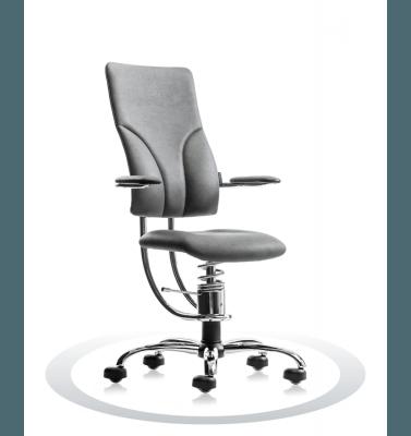 Seduta ufficio R711 crom