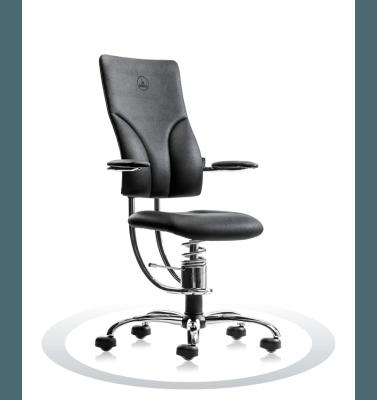 Sedute ufficio R904 crom