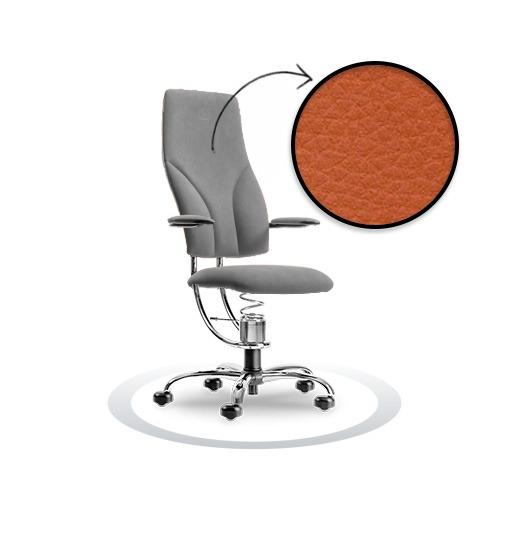 sedia ergonomica Navigator R201 cromato Spinalis