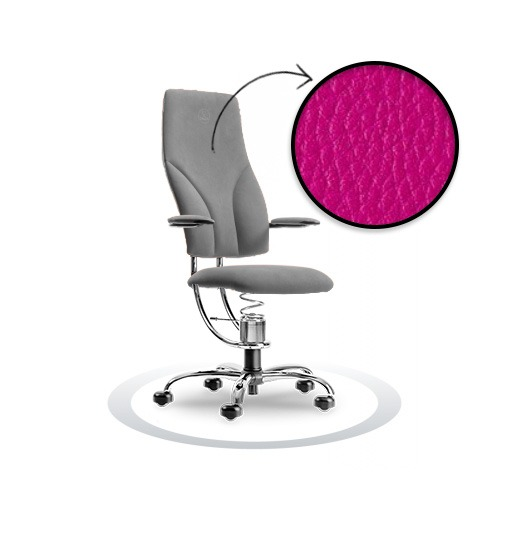 sedia ergonomica Navigator R410 cromato Spinalis