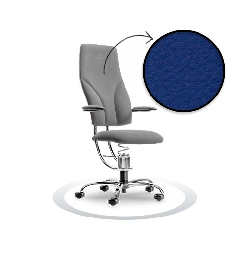 sedia ergonomica Navigator R502 cromato Spinalis