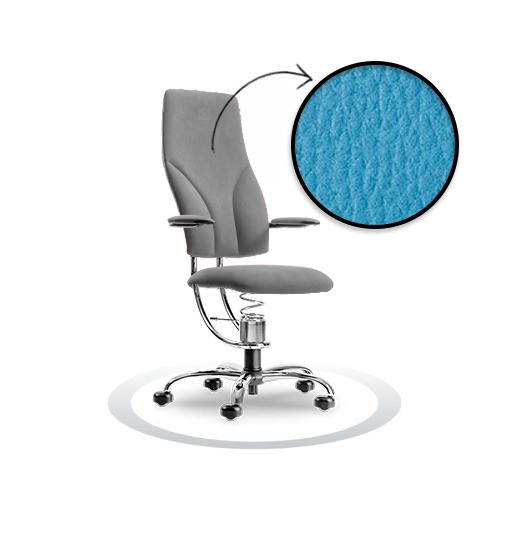 sedia ergonomica Navigator R512 cromato Spinalis