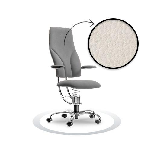 sedia ergonomica Navigator R901 cromato Spinalis