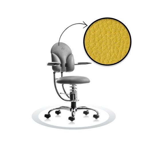 sedie da ufficio ergonomiche SpinaliS Basic R104 cromato