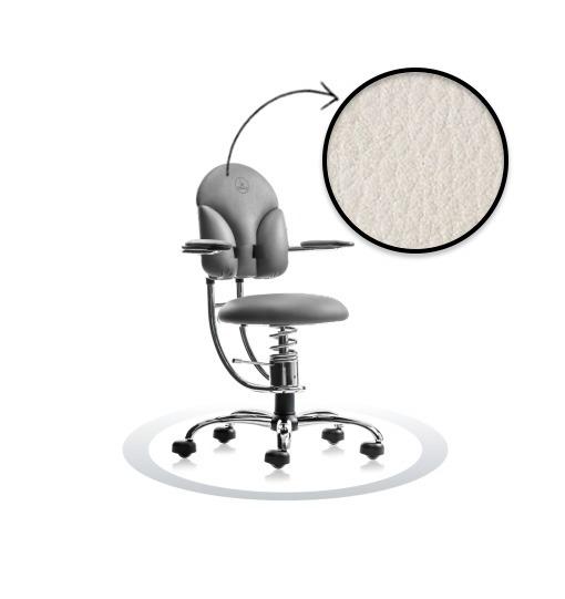 sedie da ufficio ergonomiche-SpinaliS Basic R901 cromato